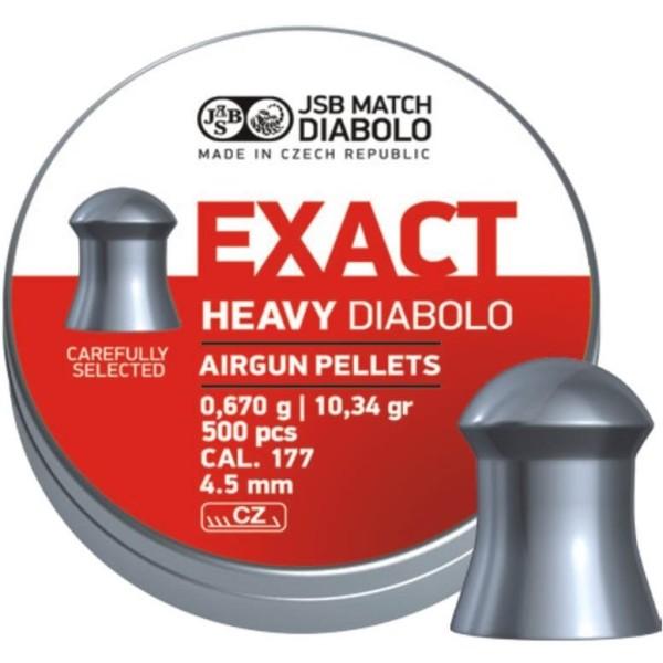 Õhupüssikuulid JSB Exact Heavy Diabolo