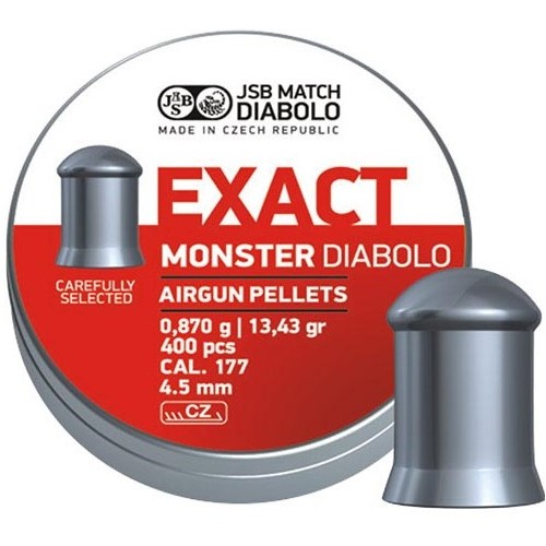 Пули JSB Exact Monster Diabolo