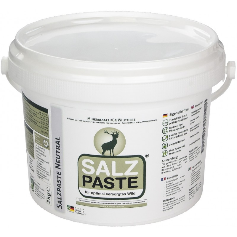 Peibutuspasta Salz Paste Neutral 2 kg.