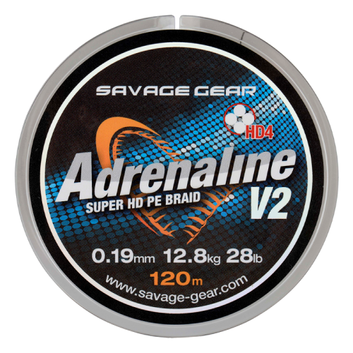 Леска плетеная Savage Gear Adrenaline V2