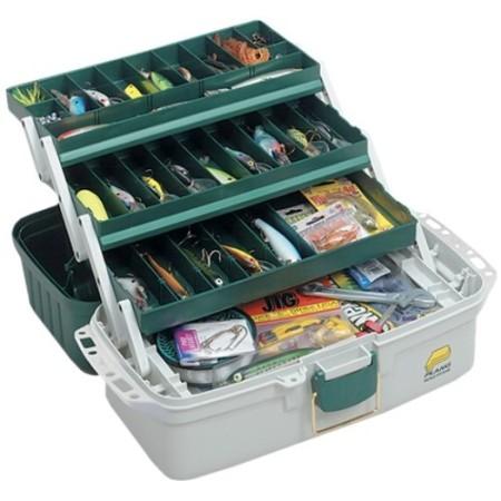 Plano Three Tray Tackle Box 6103