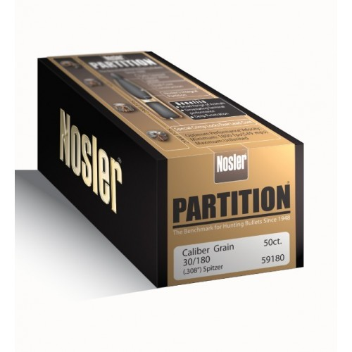 NOSLER PARTITION .30 180 GR