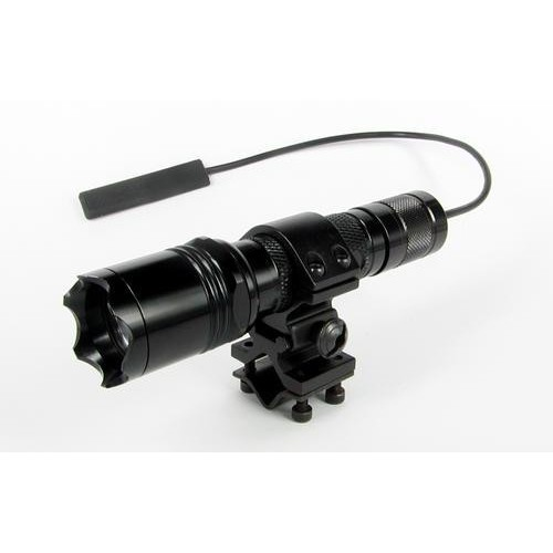 Flashlight mount for Rifle