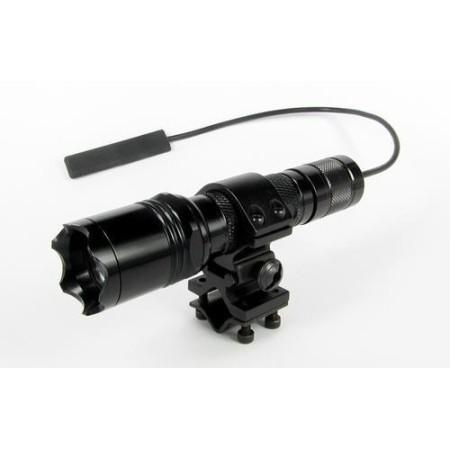 Taskulambi kinnitus relvarauale