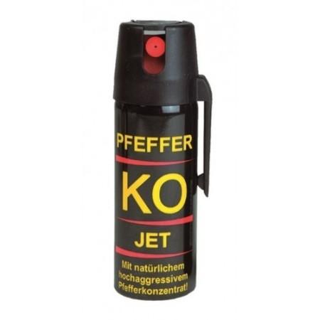 Перцовый газовый баллончик. Струйный Pfeffer KO Jet