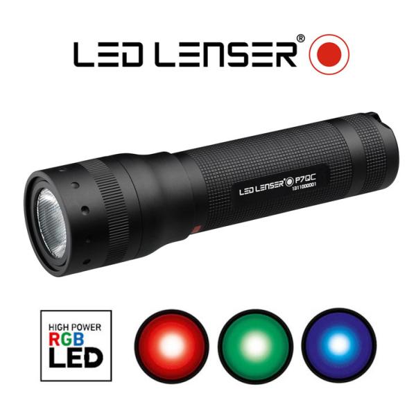 Taskulamp Led Lenser P7QC jahimeestele
