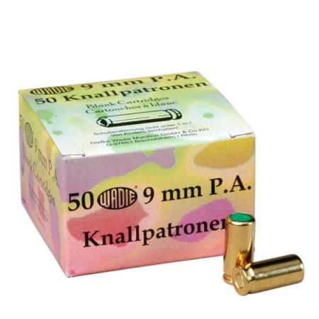 Paukpadrunid Wadie Knall 9 mm. 50 tk