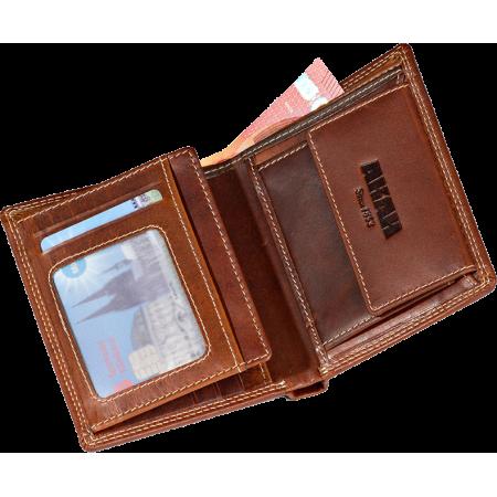 Pühvli nahast rahakott