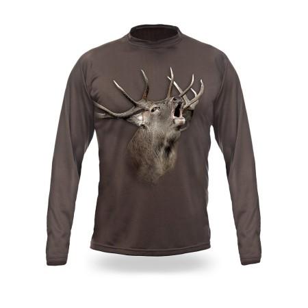 ELK /RED DEER 3D T-Shirt Long Sleeve