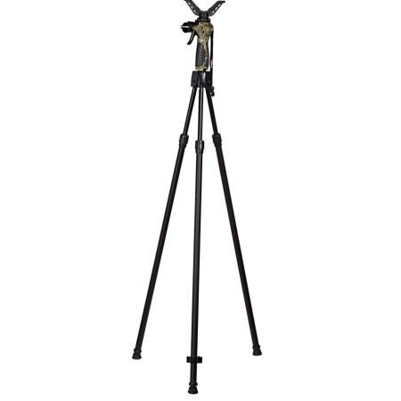 3 jalaga teleskoopiline ja automaatne laskmistugi relvale.