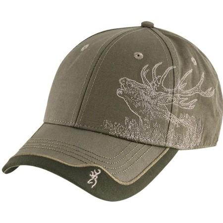 Cap Browning Deer Scene