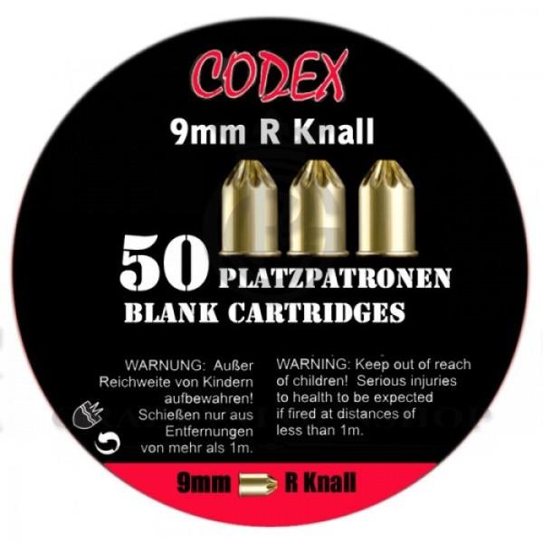 Патроны холостые Codex 9 mm. Pевольверные