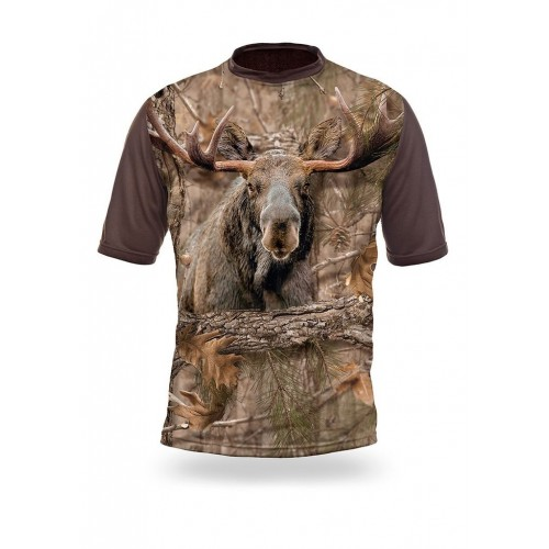 T-Shirt Short Sleeve. Moose.