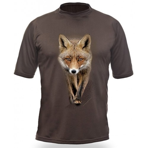 T-Shirt Short Sleeve. Fox.