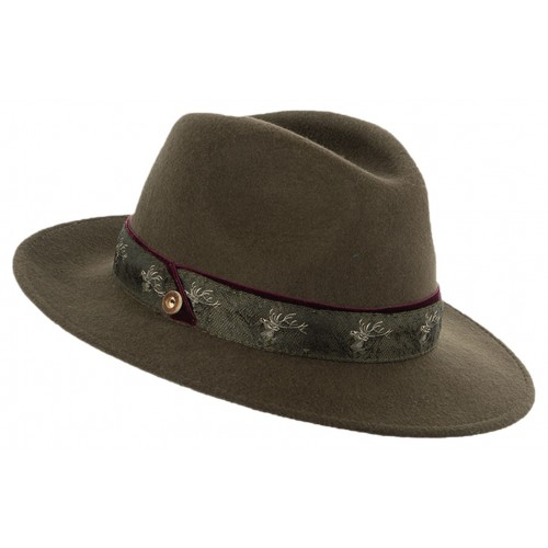 Loden Hat for Women. Weatherproof.